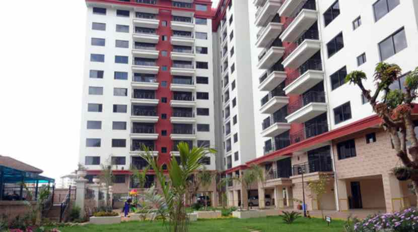2 and 3 bedroom flat for sale in Kilimani Dennis pritt