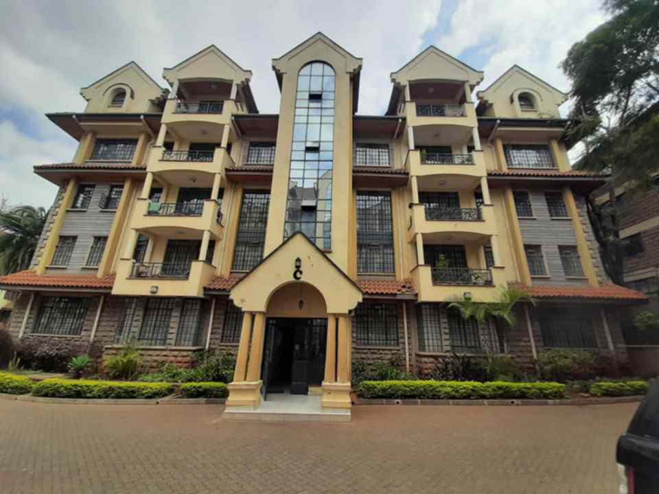 3 bedroom apartment for rent in Kilimani Ole dume road Daykio Heights