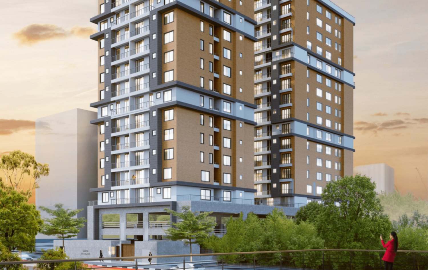 Jade Residency Kilimani 2 , 3 and 4 bedroom apartment for sale
