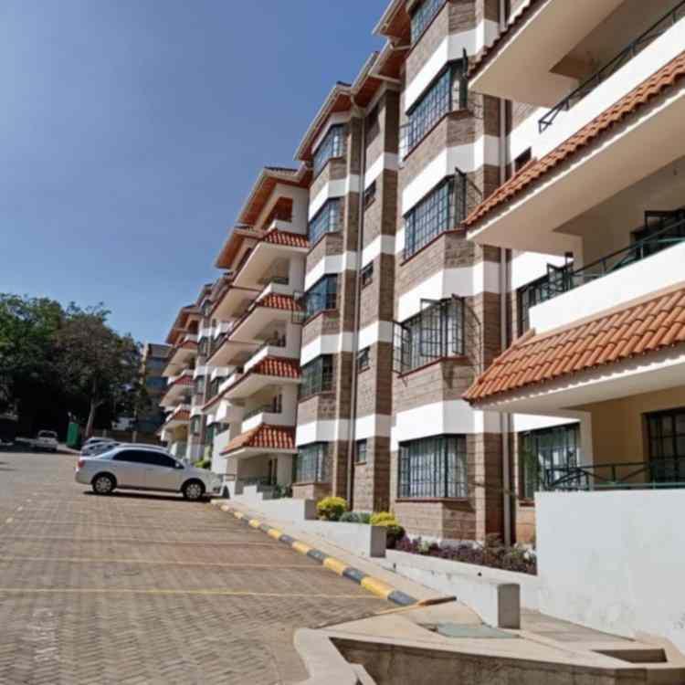 Kilimani Kirichwa road 3 bedroom apartment for rent