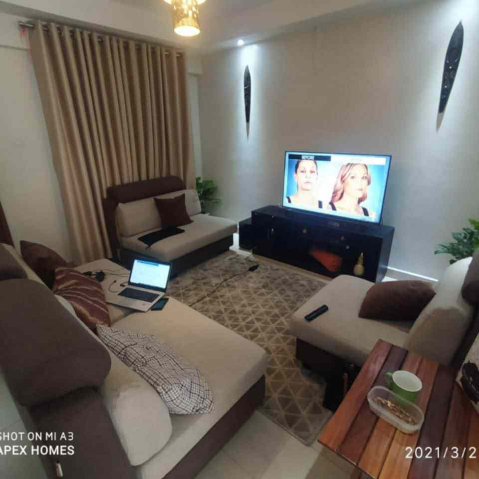 1 bedroom furnished apartment fro rent in Kilimani