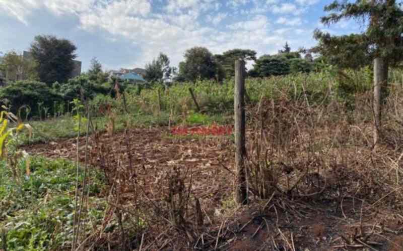 Land for sale in Kinoo Muthiga Kinoo