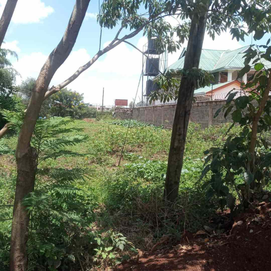 Land in Membley estate Northern bypass for sale
