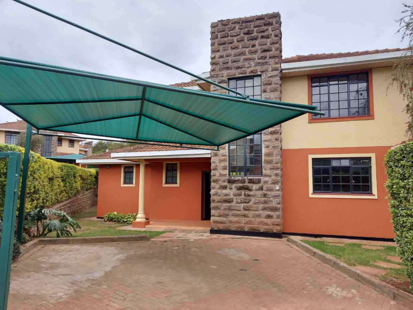 3 and 4 bedroom Villas for rent along Kiambu road