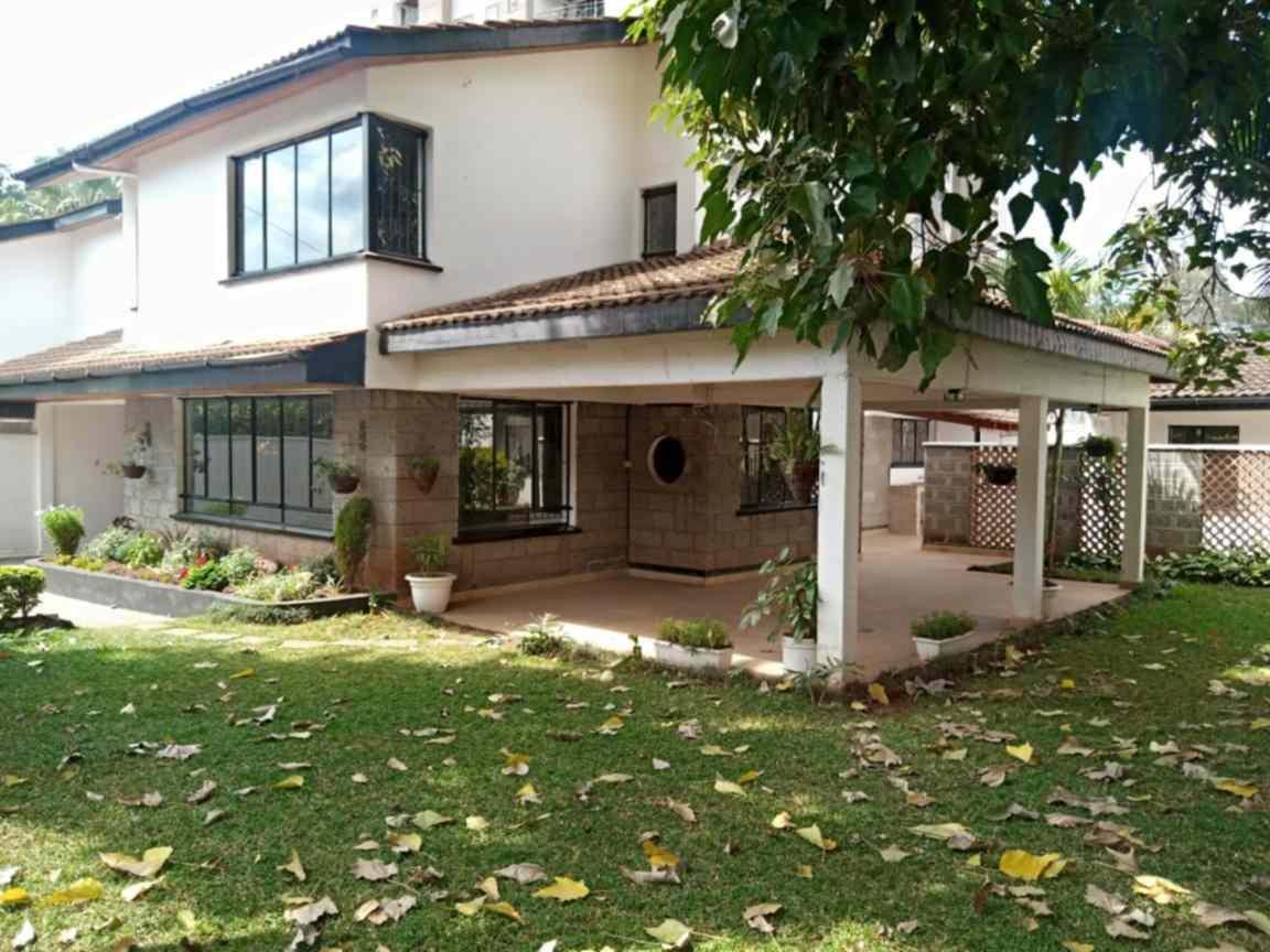 5 bedroom townhouse for rent in Hurlingham Kilimani