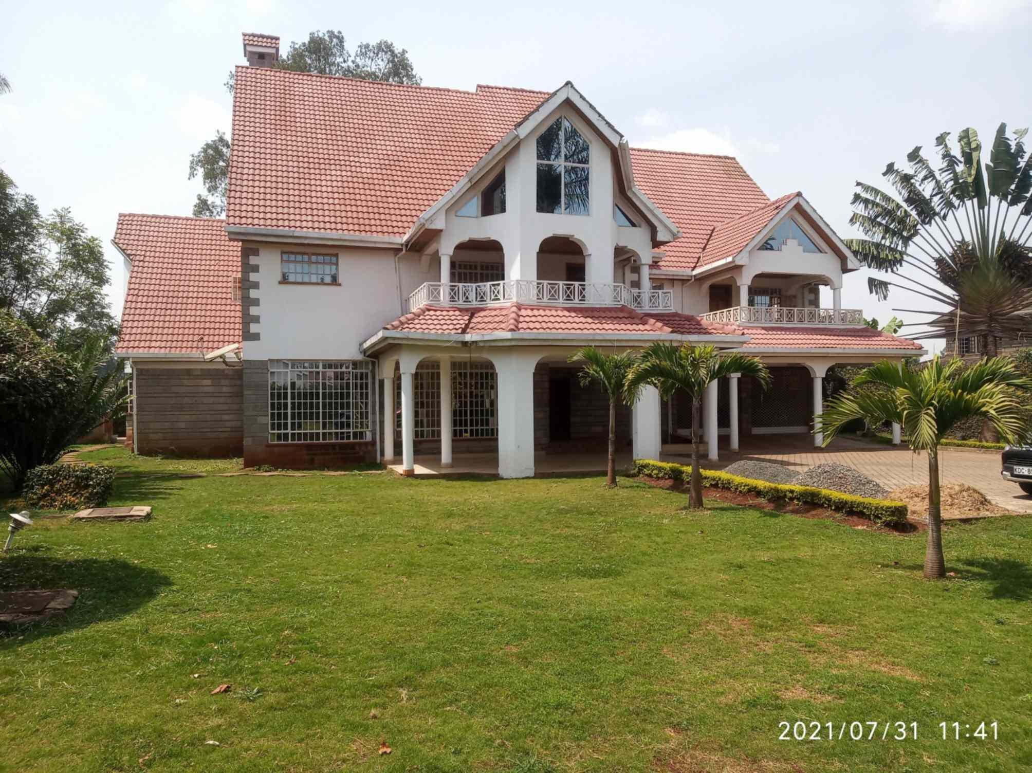 Runda  Nairobi 5 bedroom mansion for sale