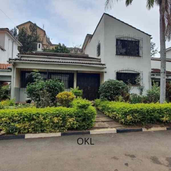 4 bedroom townhouse for rent in Nairobi Kilimani