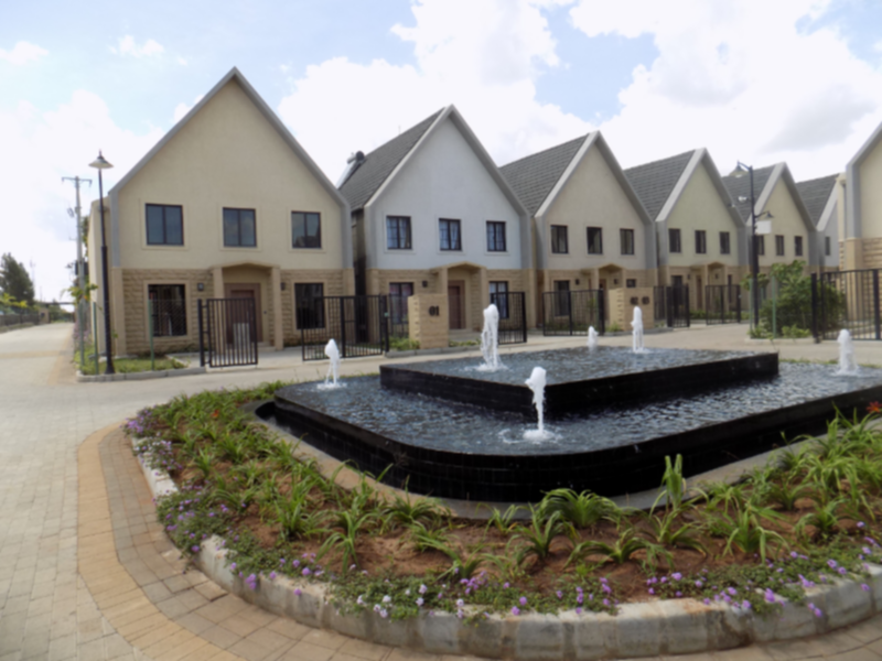 Fairfiled Gardens Syokimau 4 bedroom townhouse for sale