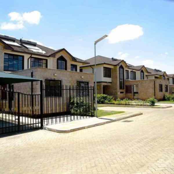 Kiambu road 4 bedroom townhouse for rent
